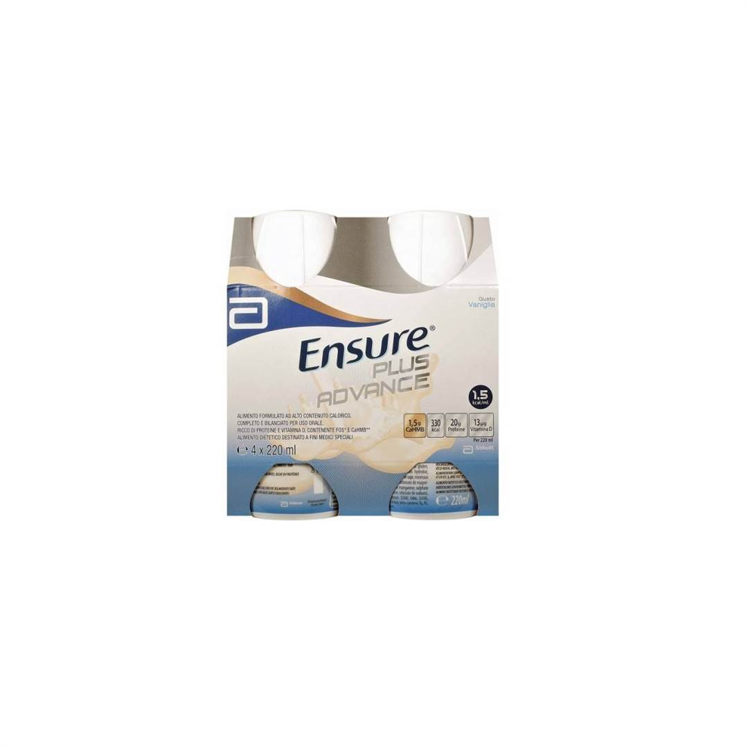 ENSURE PLUS ADVANCE VANIGLIA 4X220ML