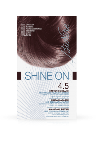 BIONIKE SHINE ON CAPELLI CASTANO MOGANO 4.5